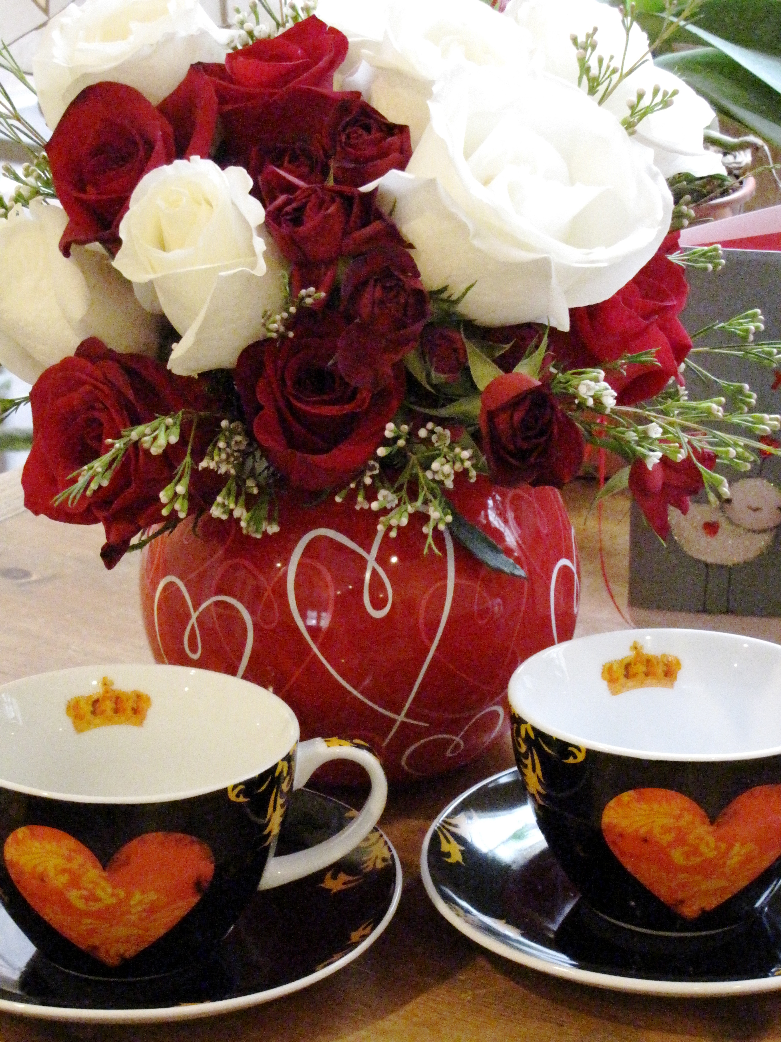 Heart Teacups