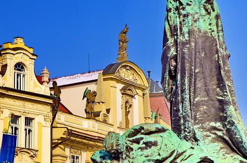 Prague Staroměstské náměstí 49 Jan Hus Memorial