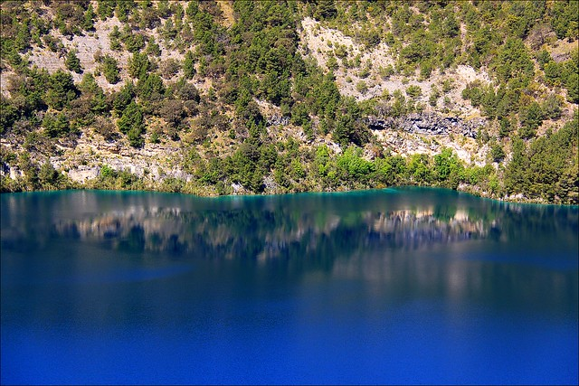 Blue Lake reflection