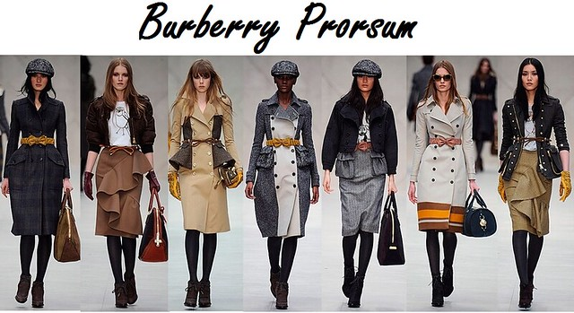 Burberry Prorsum Collection