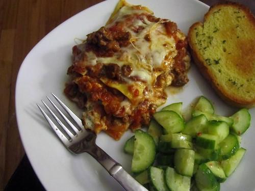 Fast Weeknight Lasagna