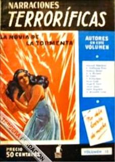 048a Narraciones Terroríficas #15 (Argentina) 1940 Includes Vampiresa Española by E. Hoffmann Price