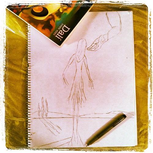 a Dali sorta doodle day...