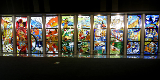 Photo:#1431 stained glass By Nemo's great uncle