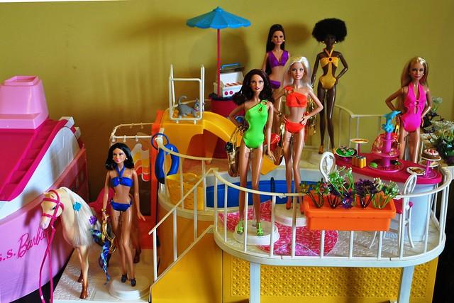 Barbie Basics 3 0 And Barbie Dream Pool Flickr Photo Sharing