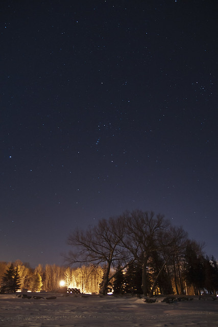 Orion over Ojibway Bay