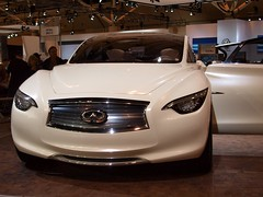 automobile, automotive exterior, vehicle, performance car, automotive design, infiniti qx70, auto show, infiniti, land vehicle, luxury vehicle, supercar,
