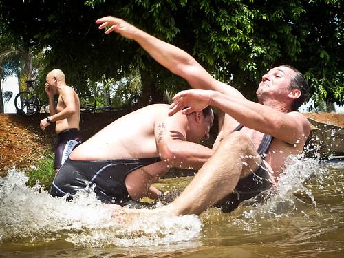 Sumô no lago :-)