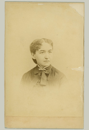 Cabinet Card woman portrait