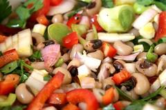 hors d'oeuvre(0.0), greek salad(0.0), produce(0.0), pasta salad(1.0), salad(1.0), vegetable(1.0), food(1.0), dish(1.0), cuisine(1.0),