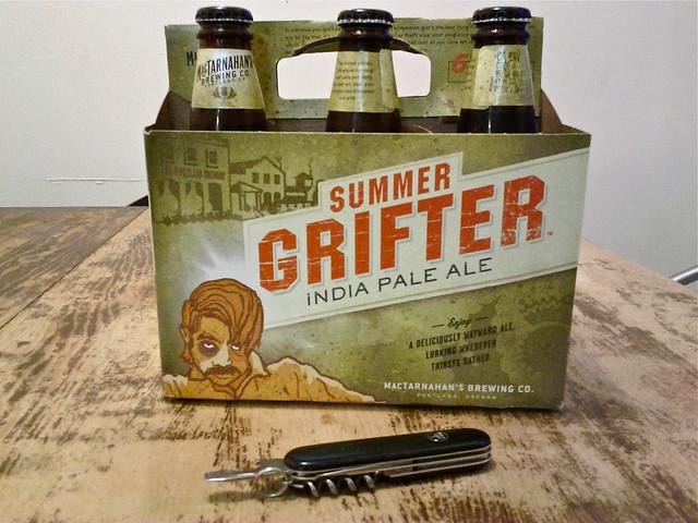 Header of grifter
