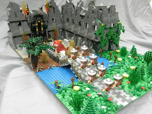 Lego Mountain Fortress 016