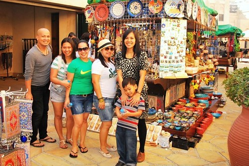 Souvenir shopping at Souk Madinat