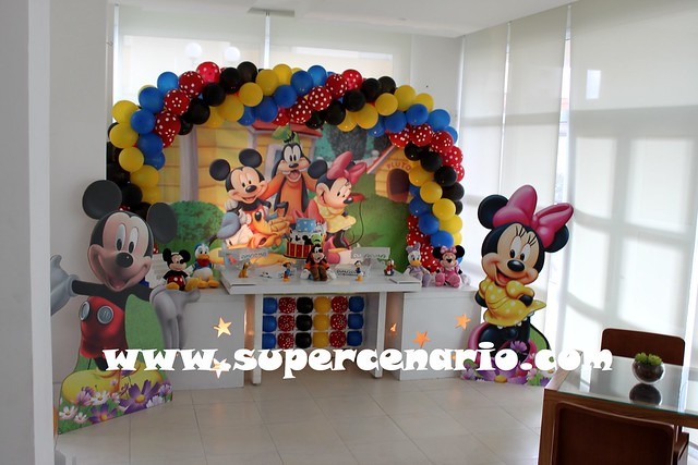 decoracao festa mickey : decoracao festa mickey:6943440556_49ab146a3c_z.jpg