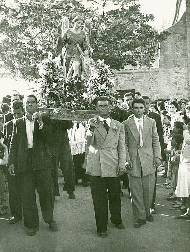 Romería del Cigarral del Ángel Custodio a mediados del siglo XX