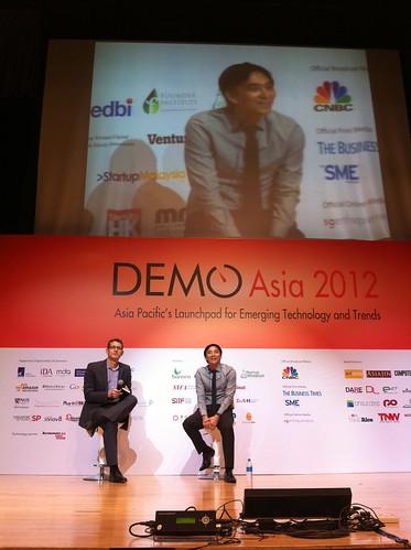 Michael Yap at DEMO Asia 2012