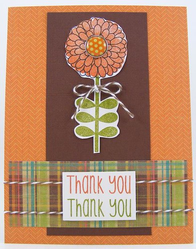 SOL March Thank You Mum Card