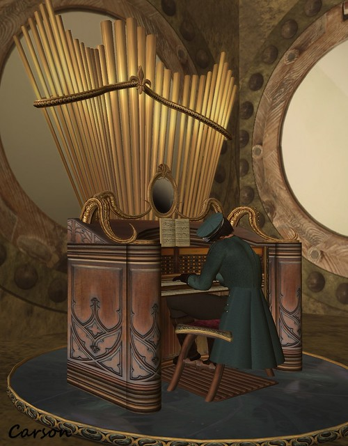 Cedar Bay Home Furnishings - Capt. Nemo's Pipe Organ