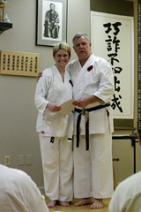 rachel & sensei robert ellis @ karate on main    MG …