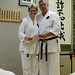 rachel & sensei robert ellis @ karate on main    MG 9582