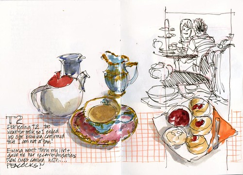 120421 Sketchcrawl35_07 Afternoon Tea round 1