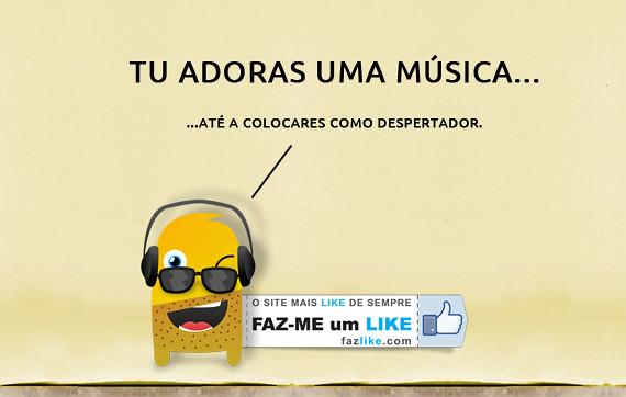 tu adoras uma musica