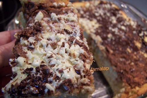 Tarta de queso y alcachofas con chocolate (21)