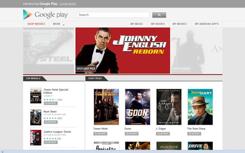 Google Play la nueva plataforma de aplicaciones Android - Image