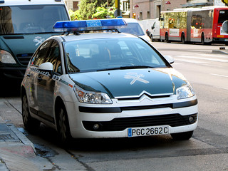 Guardia Civil. Citroen C4