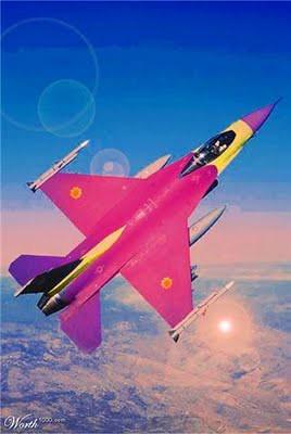 aviões jacto de mulher
