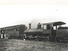 Class K294 No.296 locomotive - picnic train at Condobolin (NSW)