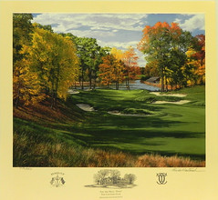 The 3rd Hole Pond The Country Club Brookline Massachussetts