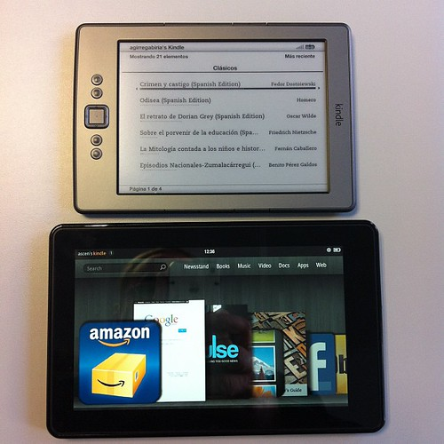 Kindle Fire y Amazon Kindle