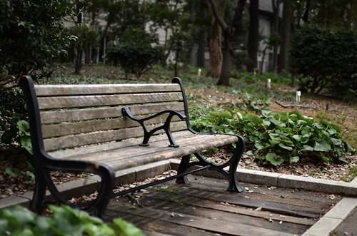a bench by hyossie