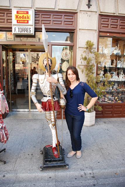 Yo con Quijote