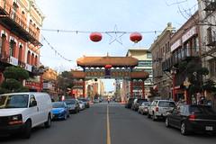 Victoria B.C. Chinatown Entrance