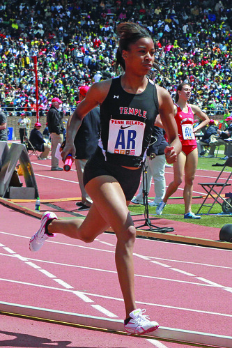 Temple's Sophomore Middle Distance Runner Tonney Smith