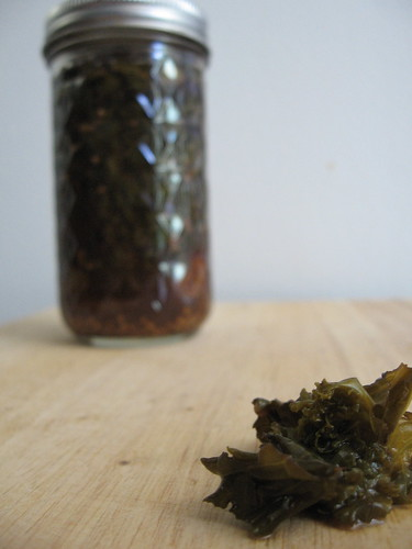 spicy pickled kale