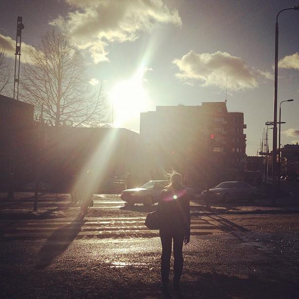 #spring #tampere #street #finland #sunny #sun