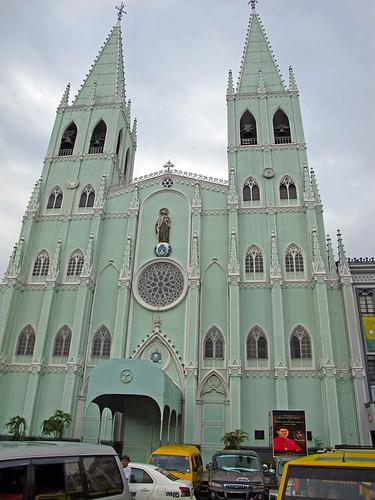 San Sebatian Curch Quiapo Manila