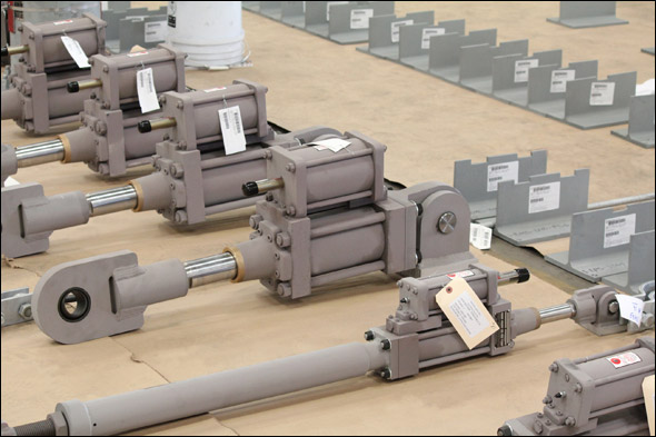 Hydraulic Snubbers Designed for a Geothermal Facility