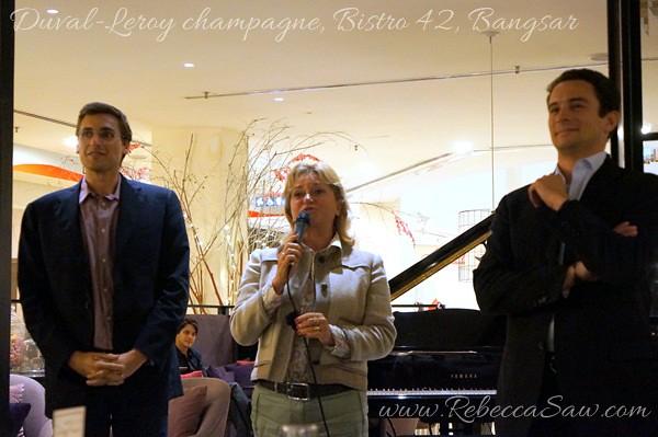Duval-Leroy champagne, Bistro 42 Bangsar-007