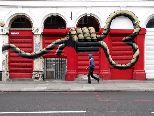 street art & graffiti London - Shok1 by _Kriebel_
