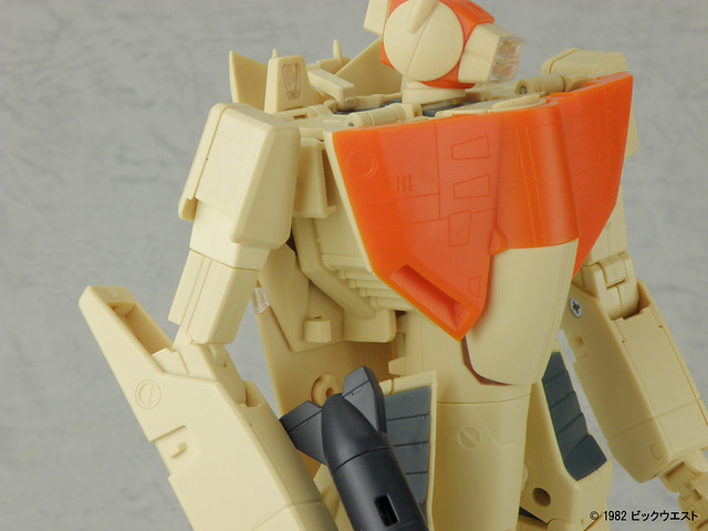 1/60 VF-1D Valkyrie No Paint Kit by Yamato Toys