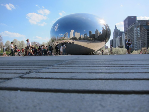 "Anish Kapoor ""Cloud Gate"" by Michael Tinkler"