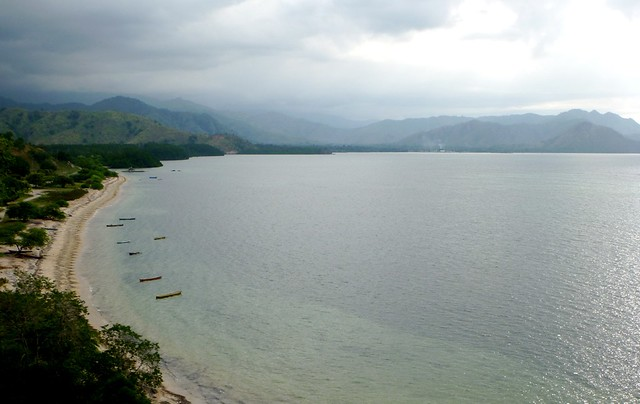 Boats in a bay just south of Dili, Timor Leste by CC user kdixon on Flickr