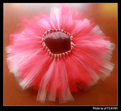 学做TUTU Skirt -- 有趣的DIY (转贴) - Jennifer - 雨夜相思客
