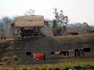 Riverside house on on the Nam Khan