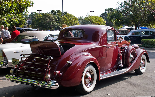 1937 packard twelve coupe maroon rvr 1920x1200 for 1937 packard 3 window coupe