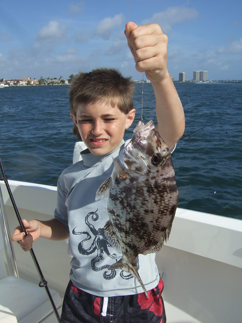 AdventureJohn catches a Big Porgy